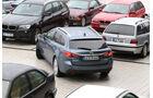 Mazda 6 2.2 D, Heckansicht, Einparken