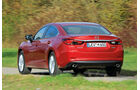 Mazda 6 2.2 l D Center-Line, Heckansicht