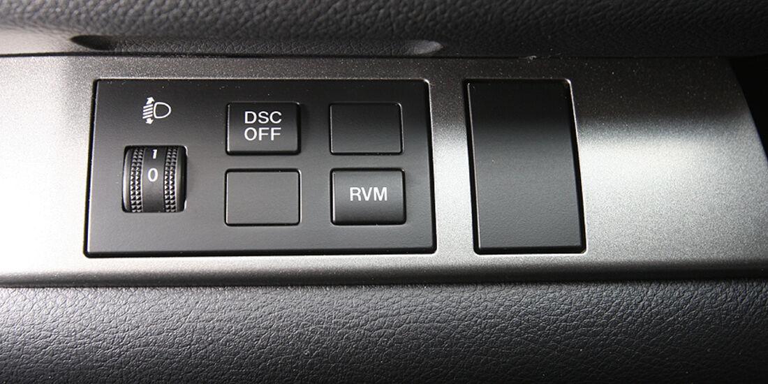 Mazda 6 Armaturen