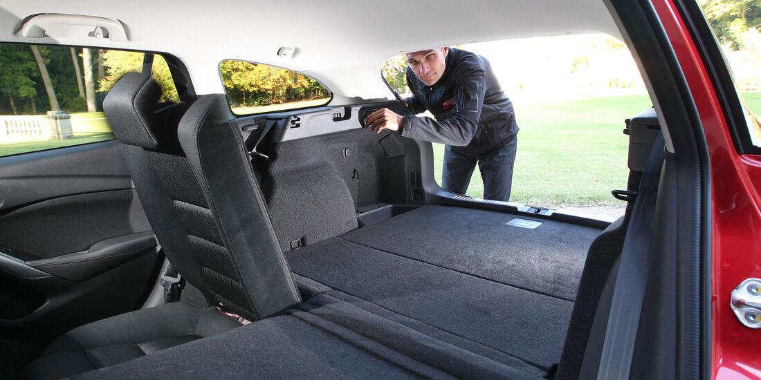 Mazda 6, Kofferraum, Ladefläche