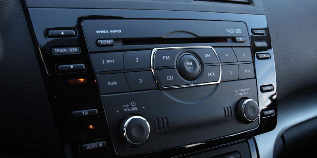 Mazda 6 Kombi 2.2, Multimediasystem