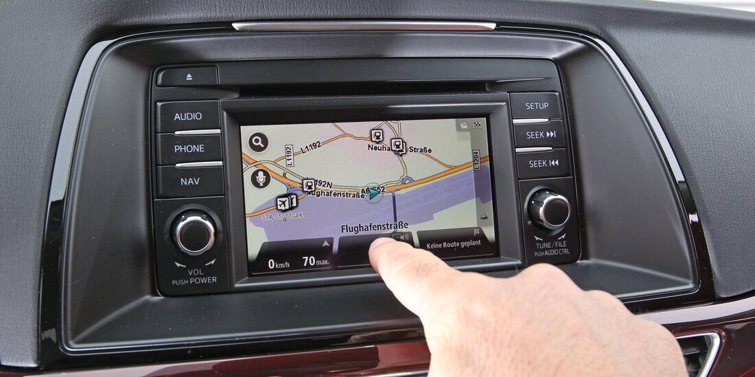 Mazda 6 Kombi 2.2i D, Navi , Display