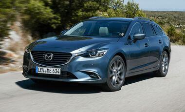 Mazda 6 Tests Auto Motor Und Sport