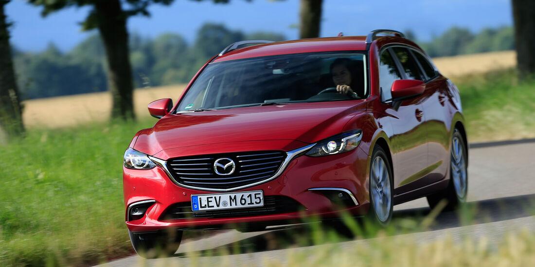 Mazda 6 Kombi D 150, Frontansicht