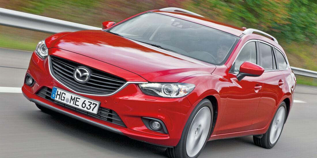 Mazda 6 Kombi, Frontansicht