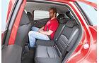 Mazda CX-3 D 105, Fondsitze