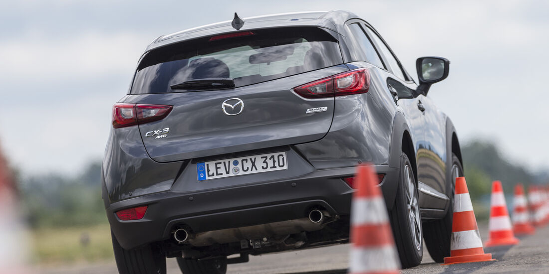 Mazda CX-3 G 150 AWD (DJ1), Heck