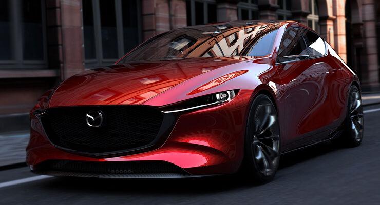 Mazda Kai Concept Tokyo Motor Show 2017
