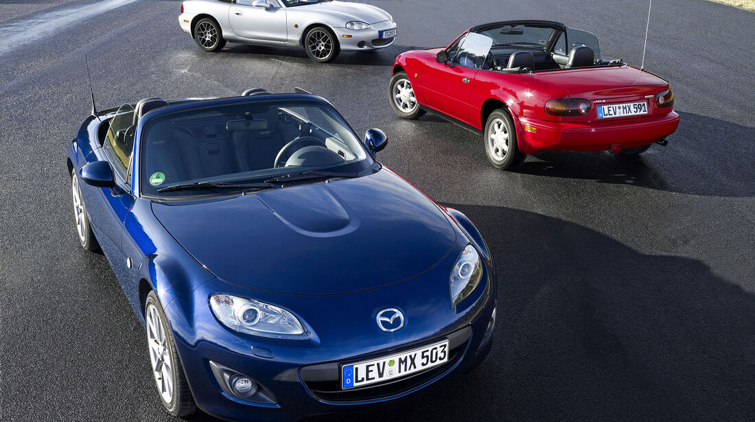 Mazda MX-5 - NA - NB - NC (Facelift) - Roadster