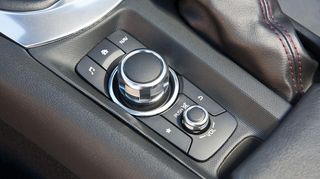 Mazda MX-5, ams, Fahrbericht, Controller