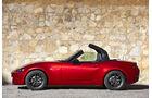 Mazda MX-5, ams, Fahrbericht, Verdeck