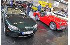 Mazda MX5, Triumph TR3A