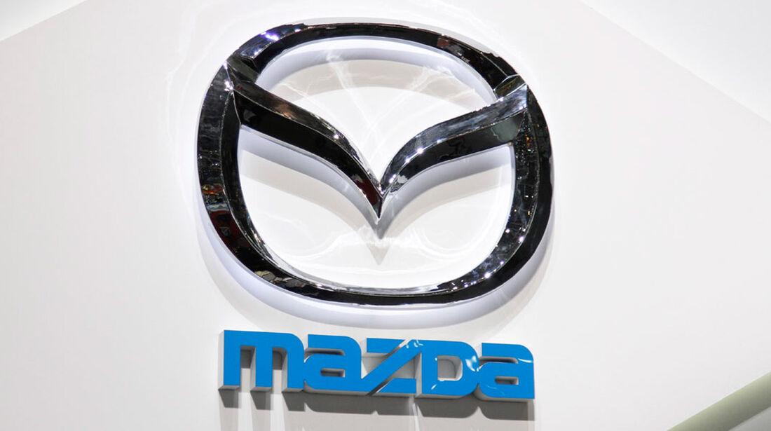 Mazda Markenlogo, Autosalon Genf 2012, Messe