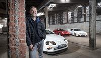 Mazda RX-7, Nissan Skyline, Toyota Supra, Frank Mühling