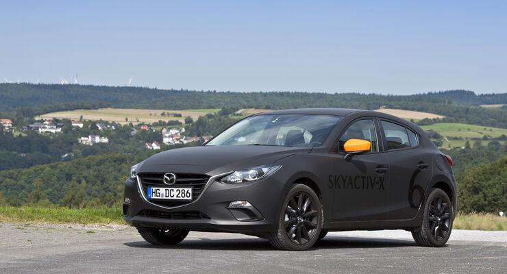 Mazda Skyactiv-X, Diesotto, kompressionszündender Benzinmotor