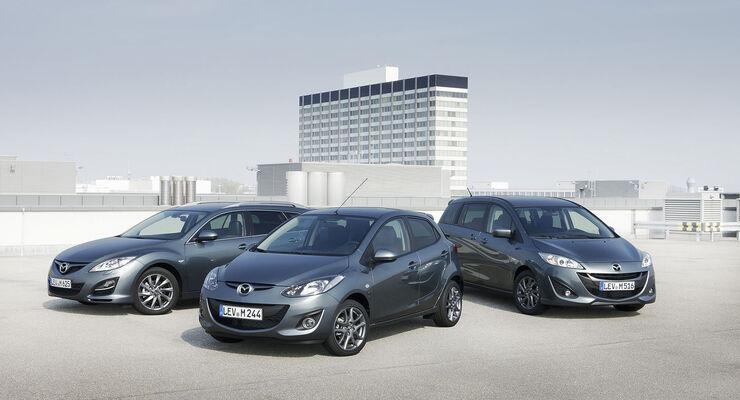 Mazda Sondermodelle 40 Jahre