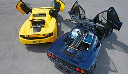 McLaren 12C Spider, Mc Laren F1, Heckansicht