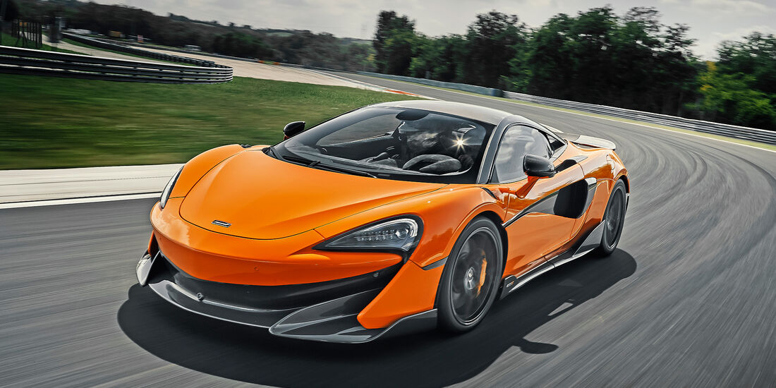 McLaren 600LT - Serie - Coupes ueber 150000 Euro - sport auto Award 2019