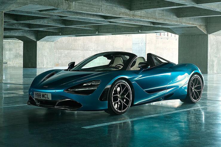 mclaren 720s spider: supersportwagen kommt als cabrio - auto motor
