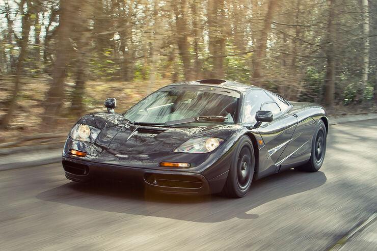 mclaren f1 zu verkaufen: sportwagen-legende im neuzustand - auto