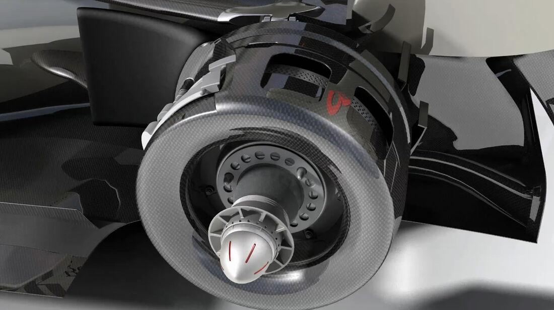 McLaren Formel 1 2012 Technik Piola