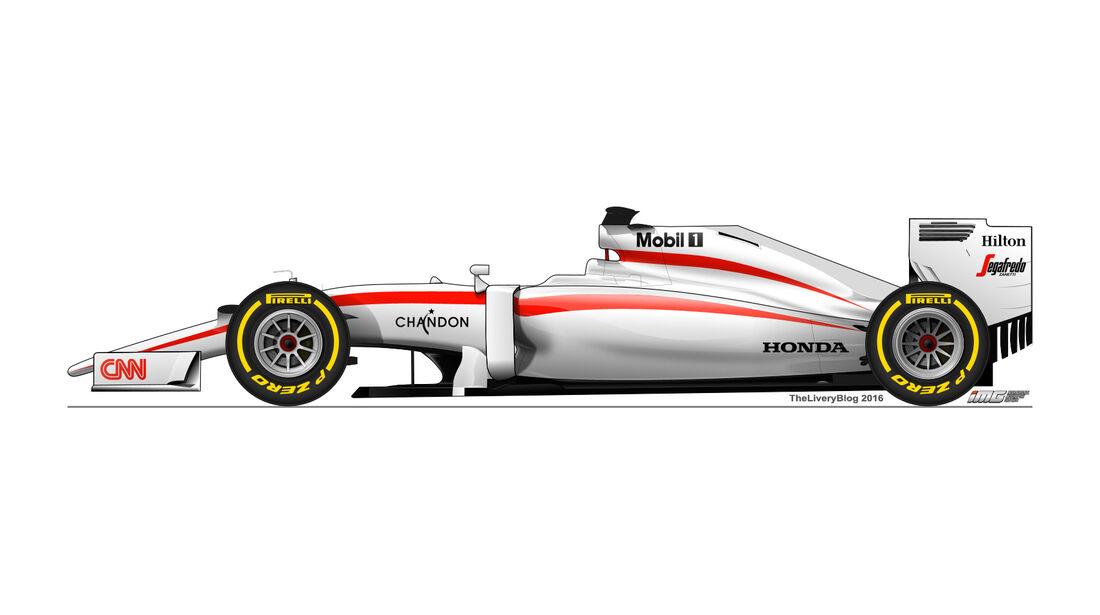 McLaren - Formel 1 Design Concepts 2016