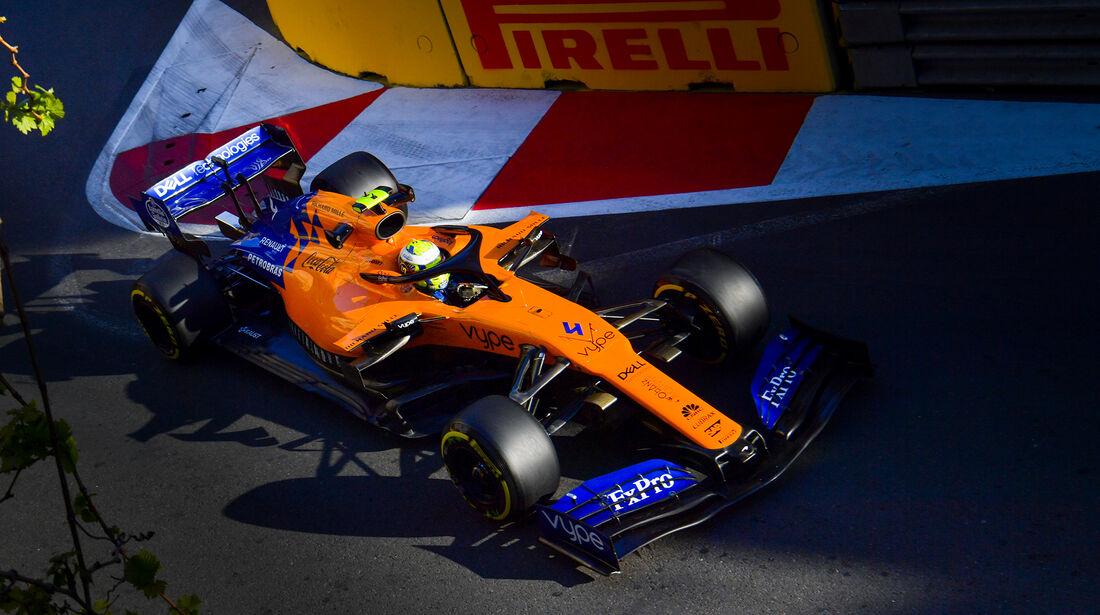 McLaren - Formel 1 - GP Aserbaidschan 2019