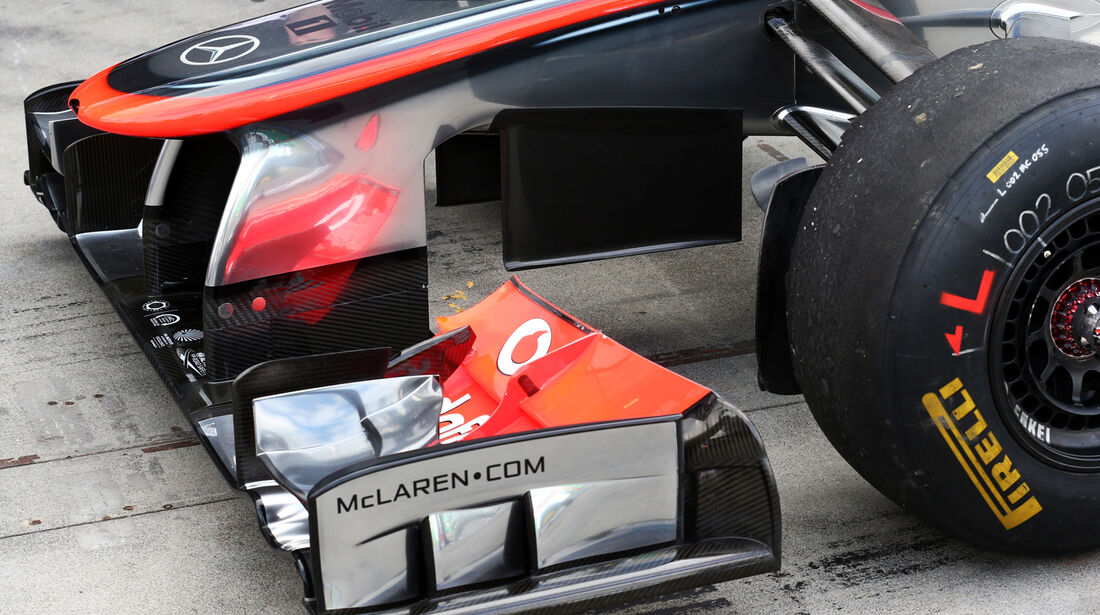 McLaren - Formel 1 - GP Australien - 15. März 2013