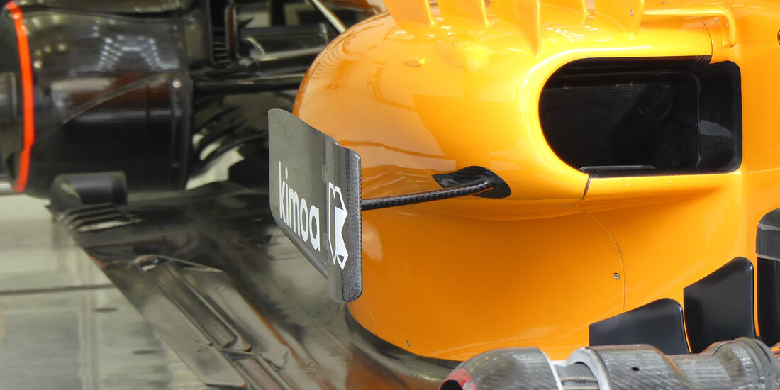 McLaren - Formel 1 - GP Bahrain - Training - 6. April 2018