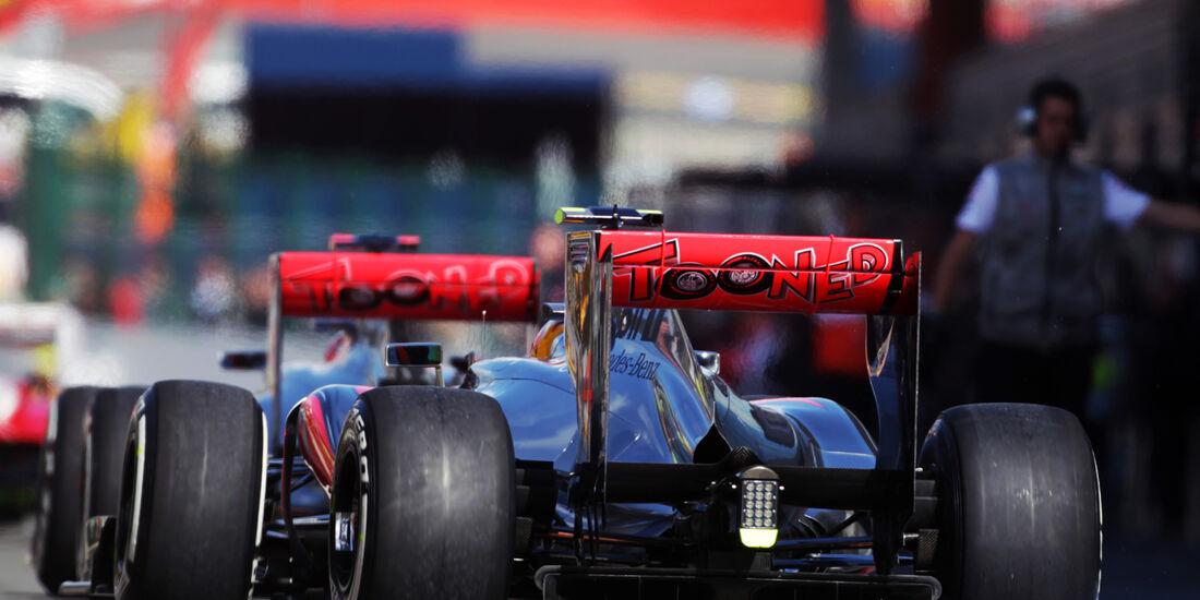 McLaren - Formel 1 - GP Belgien - Spa-Francorchamps - 1. September 2012