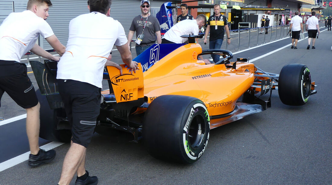 McLaren - Formel 1 - GP Belgien - Spa-Francorchamps - 23. August 2018