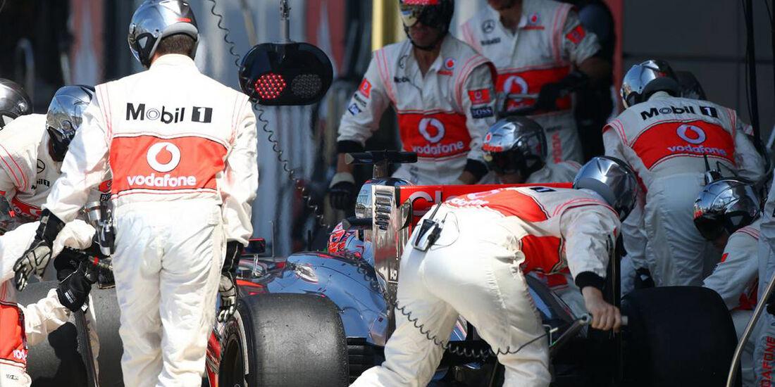 McLaren  - Formel 1 - GP England - 30. Juni 2013