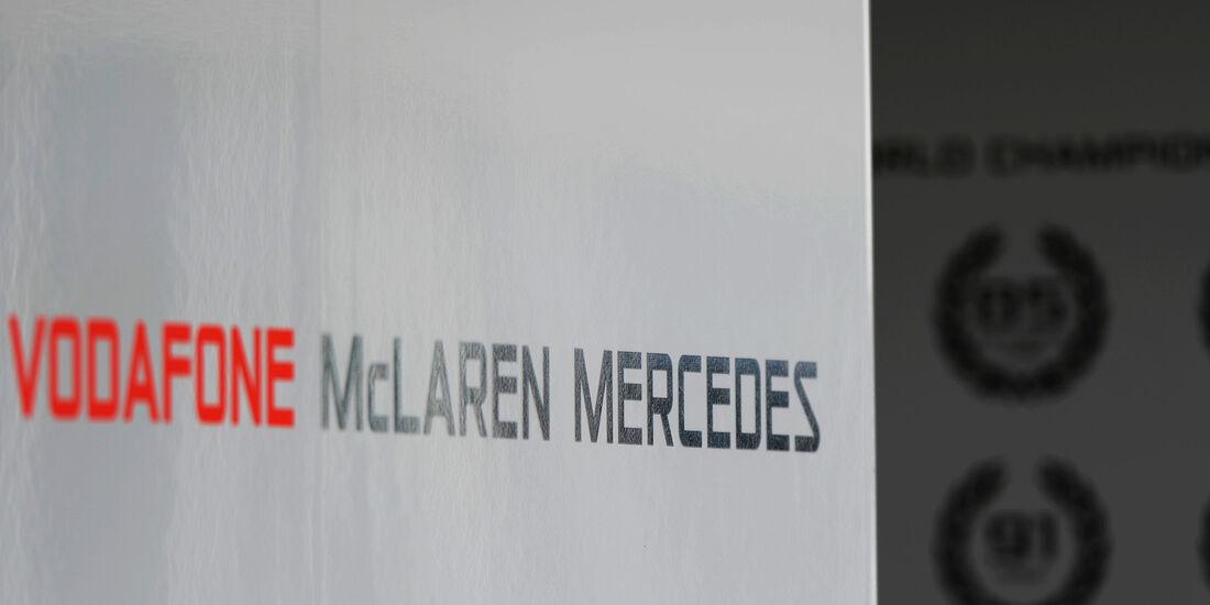 McLaren - Formel 1 - GP Indien - Delhi - 24. Oktober 2013
