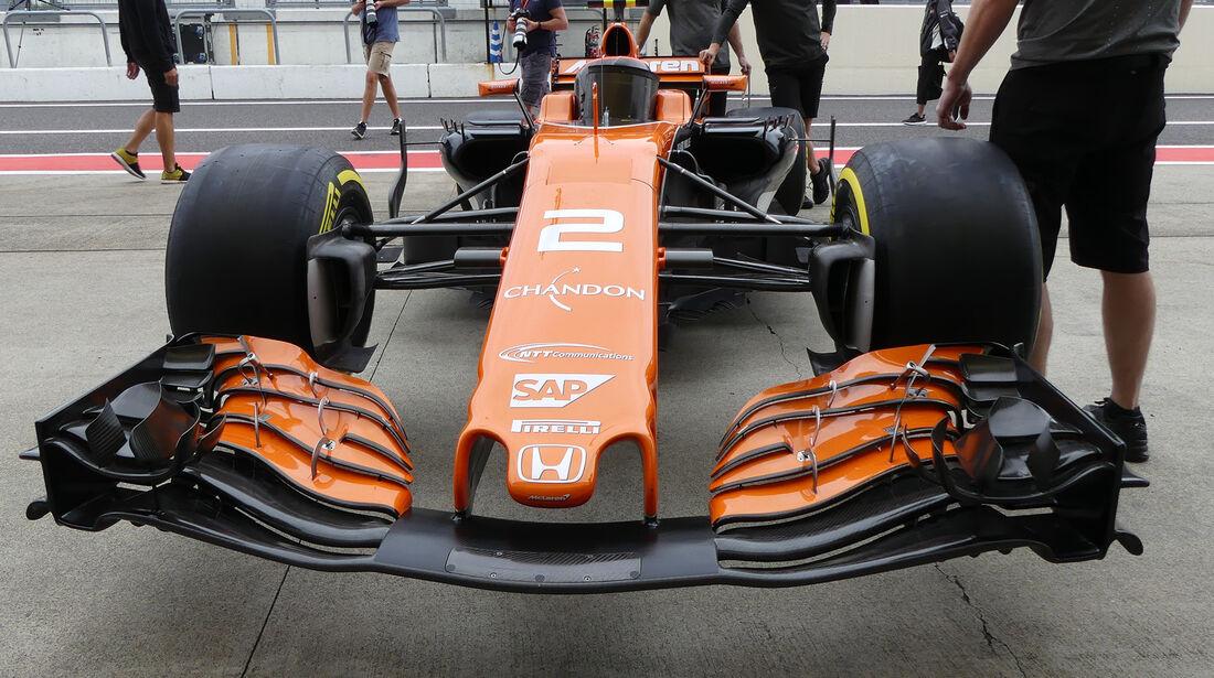 McLaren - Formel 1 - GP Japan - Suzuka - 5. Oktober 2017