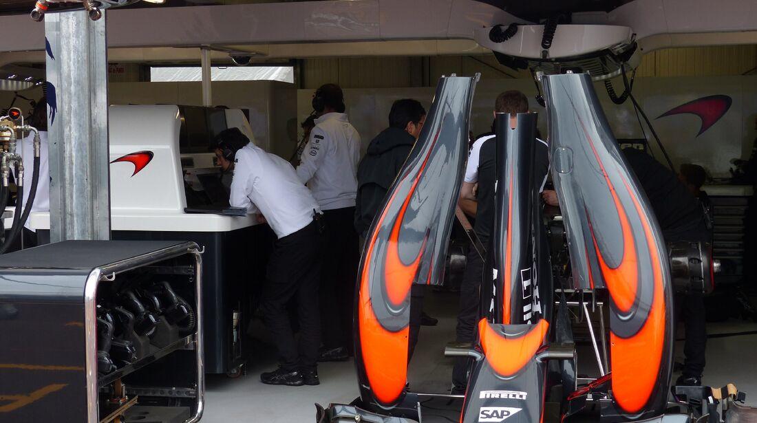 McLaren  - Formel 1 - GP Monaco - Donnerstag - 21. Mai 2015