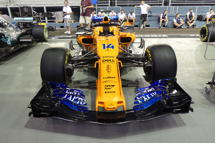 McLaren - Formel 1 - GP Singapur - 13. September 2018