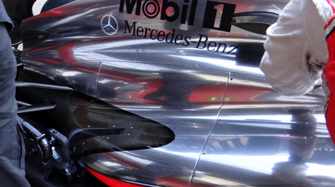 McLaren - Formel 1 - Test - Barcelona - 28. Februar 2013