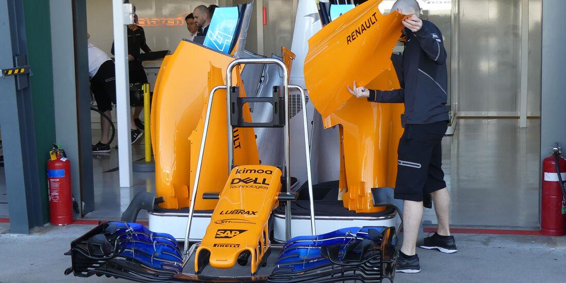 McLaren - GP Australien 2018 - Melbourne - Albert Park - Donnerstag - 22.3.2018