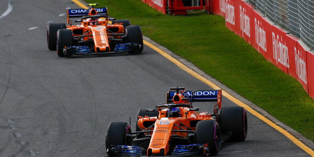 McLaren - GP Australien 2018