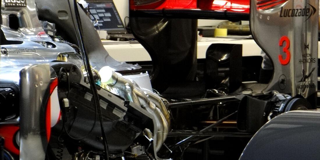 McLaren - GP Australien - Melbourne - 15. März 2012