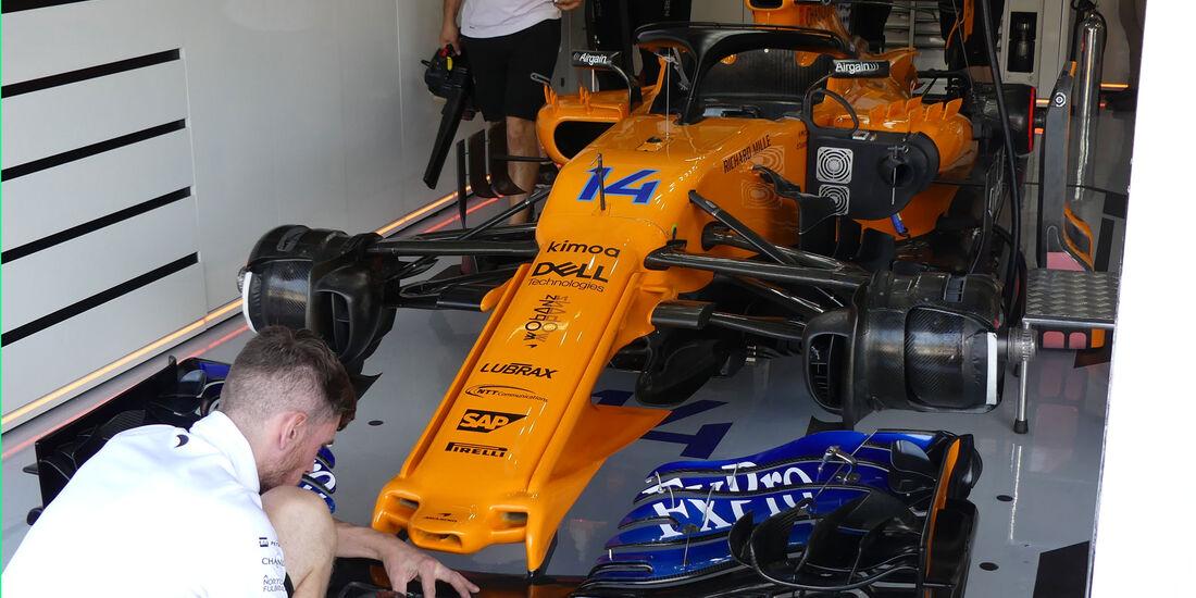 McLaren - GP Deutschland - Hockenheim - Formel 1 - Freitag - 20.7.2018
