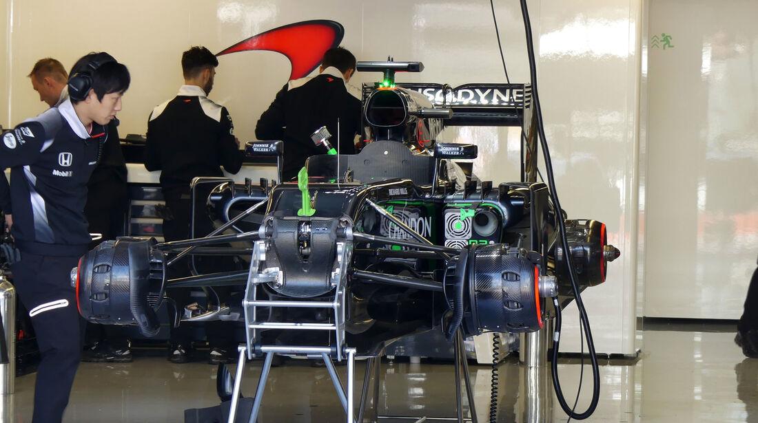 McLaren - GP Kanada - Montreal - Freitag - 10.6.2016