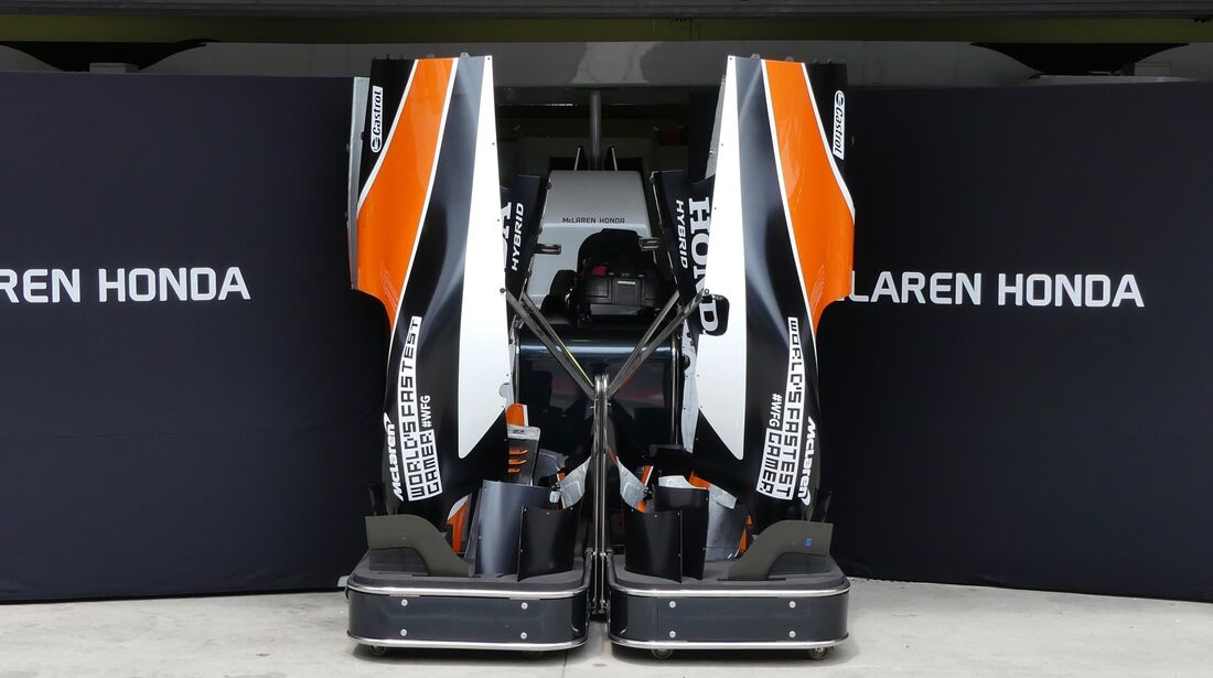 McLaren-Honda - Formel 1 - GP Brasilien - 8. November 2017