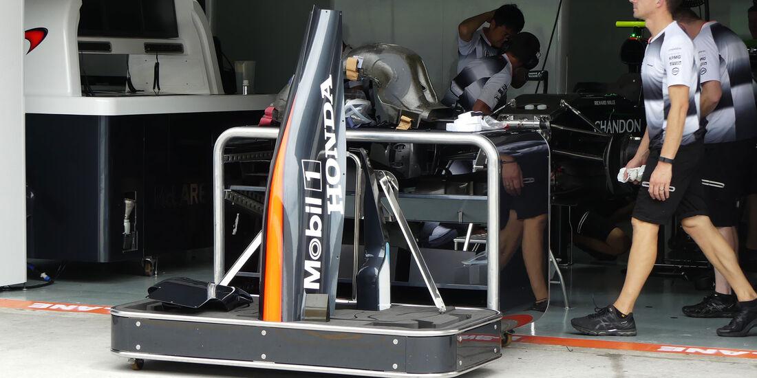 McLaren-Honda - Formel 1 - GP Malaysia - Sepang - Donnerstag - 29.9.2016