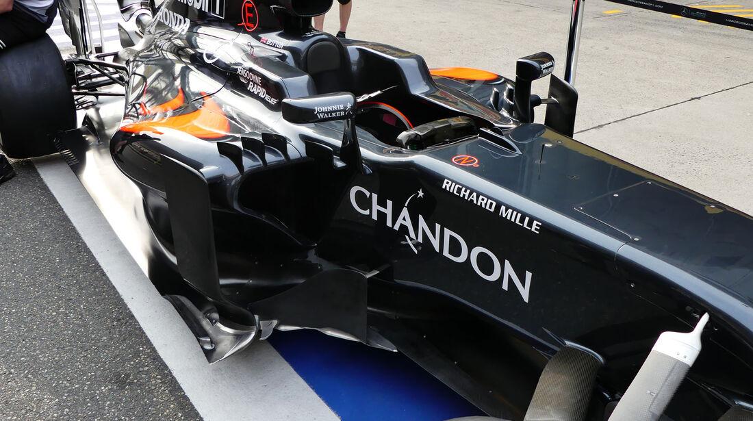 McLaren-Honda - GP China - Shanghai - Donnerstag - 14.4.2016