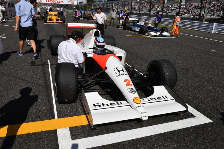 McLaren Honda MP4-7A - Takuma Sato - Klassiker-Parade - GP Japan 2018