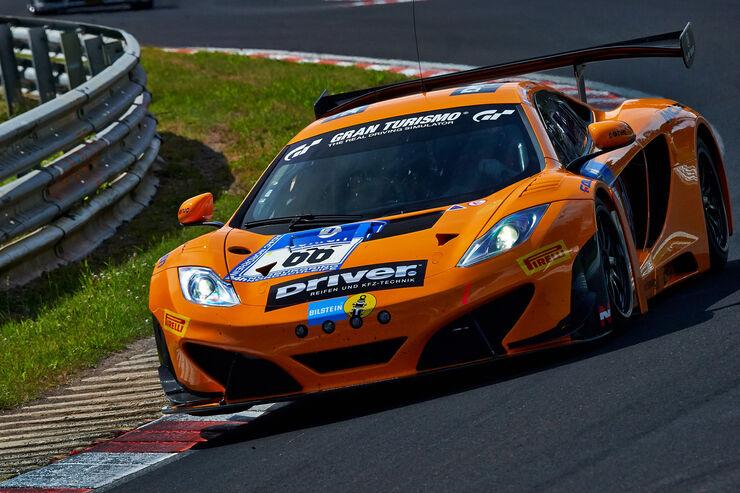 24h nürburgring, top-30-qualifying: mclaren auf pole - auto motor