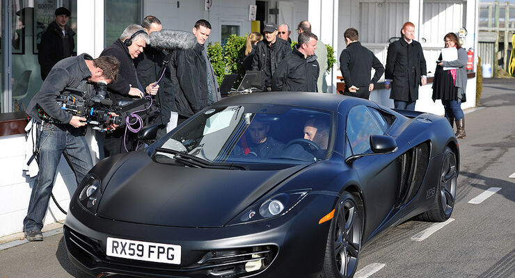 McLaren MP4-12C, Jenson Button, Lewis Hamilton