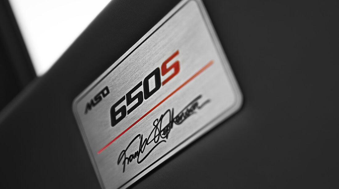 McLaren MSO 650S