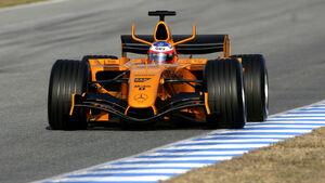McLaren Mercedes Test 2006